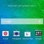 Samsung Galaxy Alpha ukázka prostředí TouchWiz 2