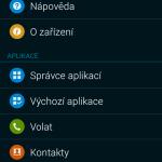 Samsung Galaxy Alpha ukázka prostředí TouchWiz 8