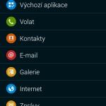 Samsung Galaxy Alpha ukázka prostředí TouchWiz 9