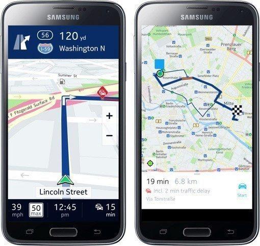 Nokia uvolnila svou navigaci HERE exkluzivně pro zařízení Samsung