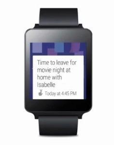 Android v hodinkách