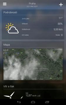 Yahoo Počasí