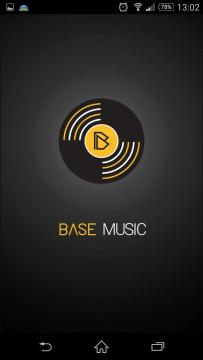 Music Sensor: úvodní logo