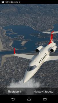 Letadla živá tapeta