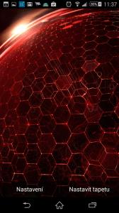 Droid DNA Živá tapeta