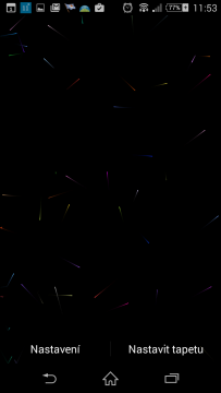 Colored Particles Live Wallpap