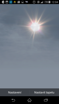 3D Parallax Weather