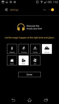Možnosti nastavení aplikace