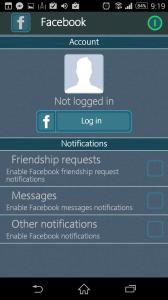 Propojení se sociální sítí Facebook
