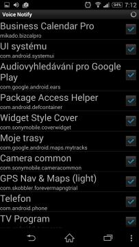 Sekce App List
