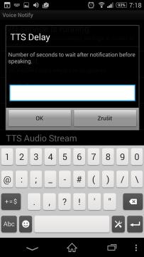 TTS Delay