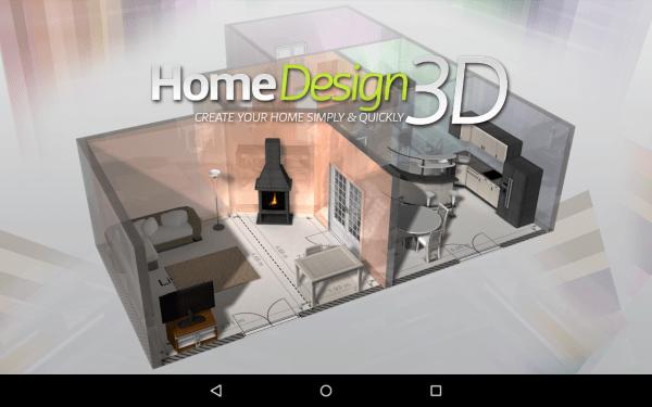 Úvodní logo aplikace Home Design 3D