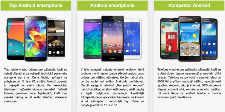android roku 2014 telefony