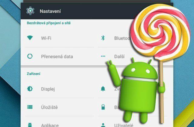 Nové tipy a triky pro Android 5.0 Lollipop