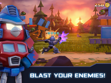 angry birds transformers 1 android hry