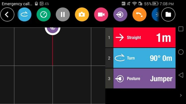 Aplikace FreeFlight 3 Road Plan 1