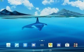 ASUS MyOcean 1 android aplikace