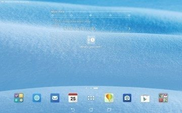 Asus Transformer Pad - What's Next Widget