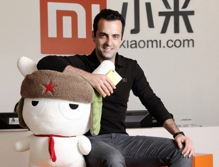 Viceprezident Xiaomi pro product management Hugo Barra