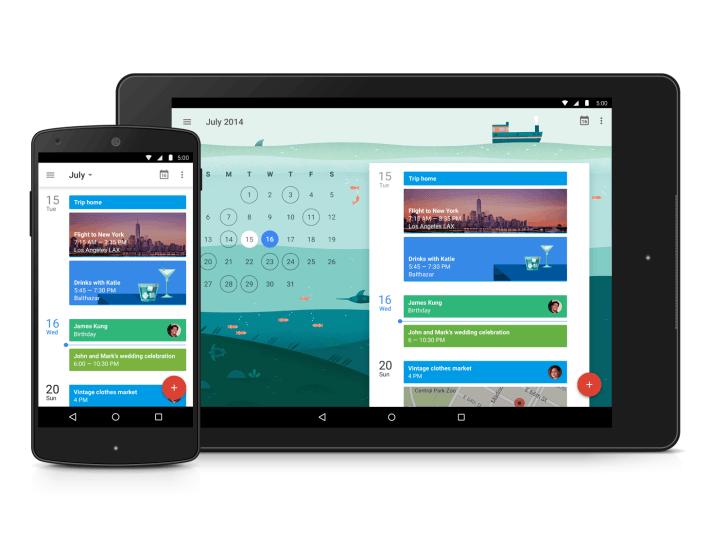 Google vydává nový Kalendář