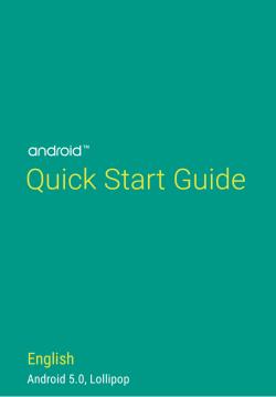 Google vydal příručku k Androidu 5.0 Lollipop