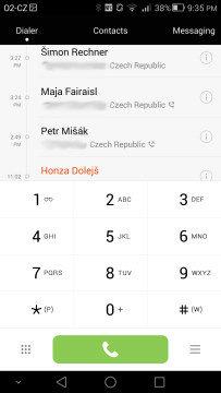 Huawei Ascend Mate 7 aplikace Telefon 1