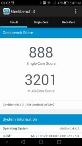 Huawei Ascend Mate 7 Geekbench 3 - 1