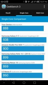 Huawei Ascend Mate 7 Geekbench 3 - 2