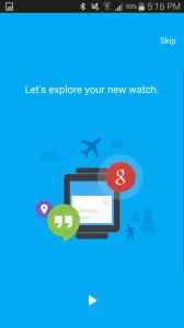 Motorola Moto 360 aplikace Android Wear 3
