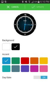 Motorola Moto 360 aplikace Motorola Connect 3