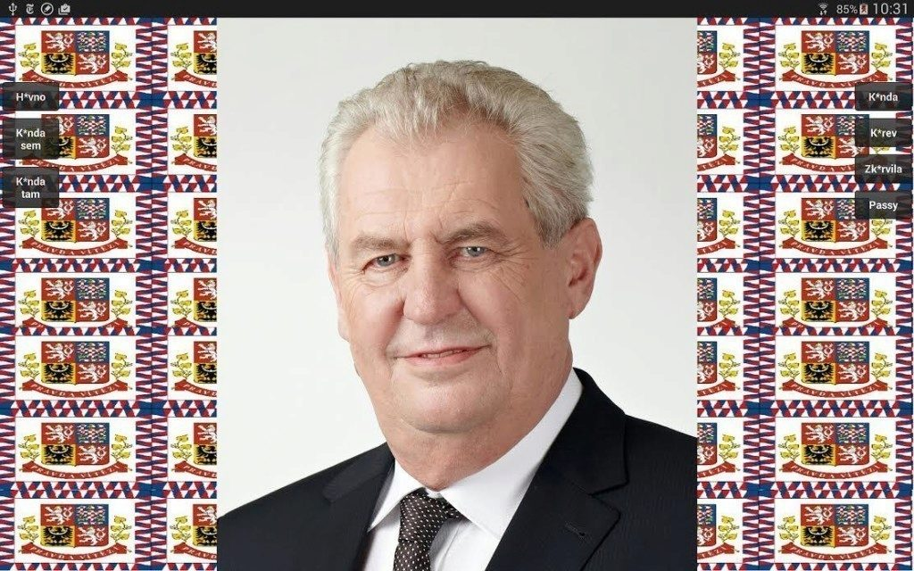 Nadávky Miloše Zemana