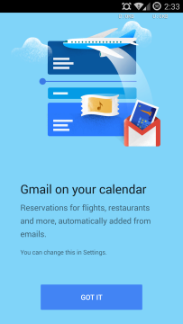 Kalendář Google 5.0