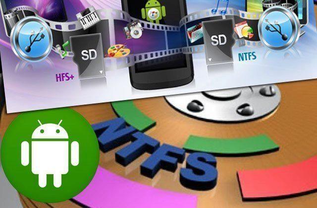 Jak připojit k Androidu disk se souborovým systémem NTFS?