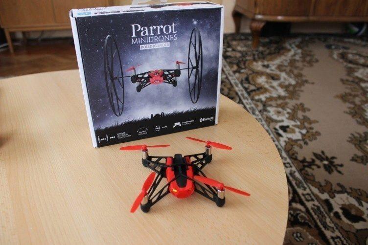 Parrot Rolling Spider - balení