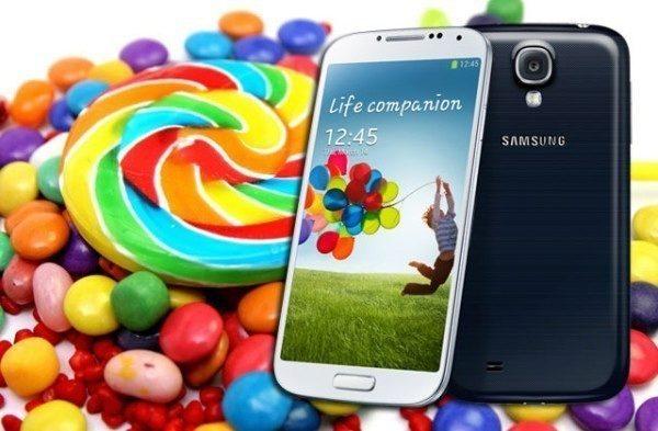 Samsung Galaxy S4 dostane Android 5.0 Lollipop počátkem roku 2015