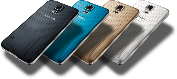 samsung galaxy-s5-back-in-4-colors