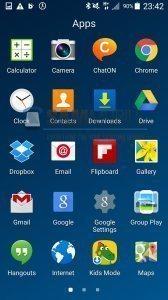 Android 5.0 Lollipop na telefonu Samsung Galaxy S4