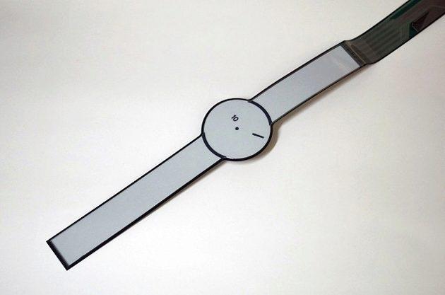 Sony e-ink papír hodinky
