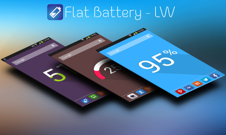 Flat Battery Live Wallpaper