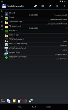 USB plugin for Total Commander