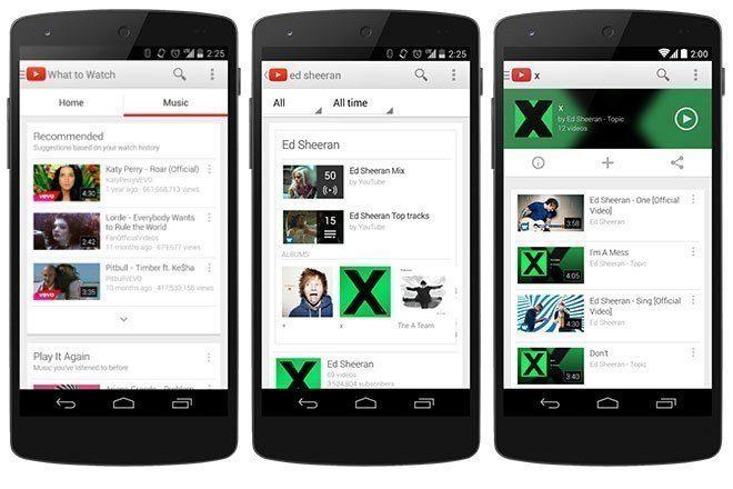 youtube hudba
