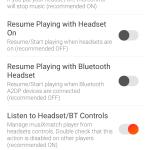 Nastavení sluchátek