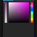Ruční nastavení barvy