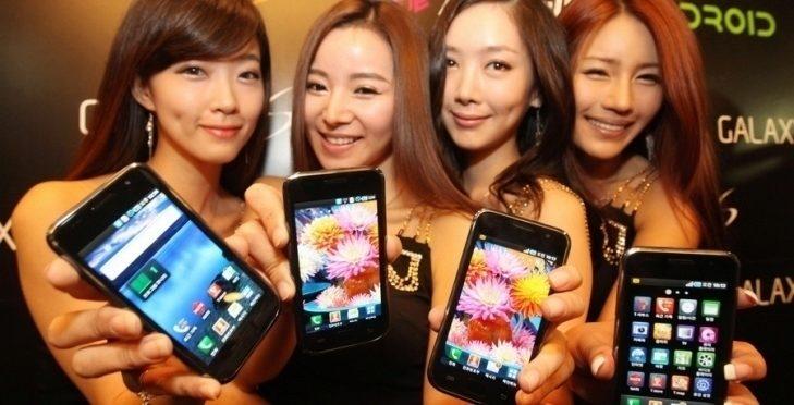 Čínští výrobci smartphonů porazili své jihokorejské soupeře