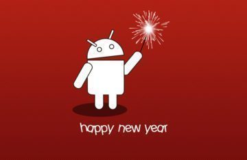 Android a společnost Google přejou všechno nejlepší do nového roku1