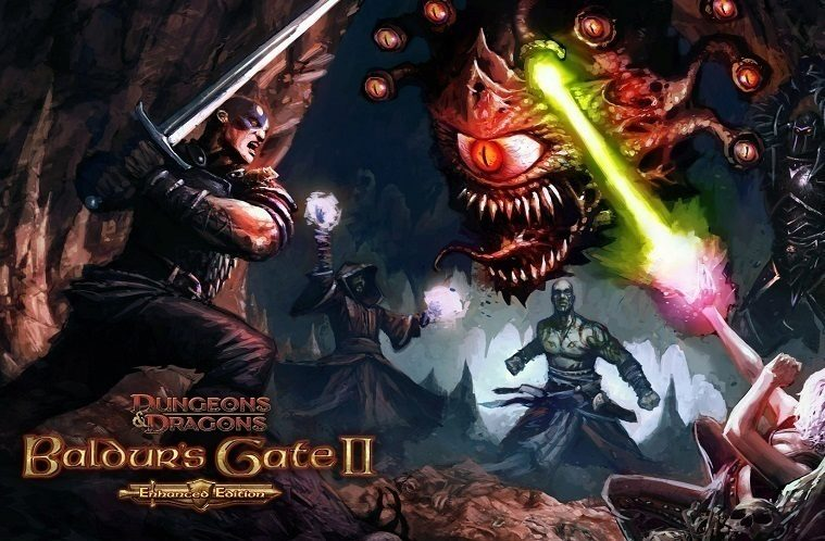 Baldurs Gate II titul