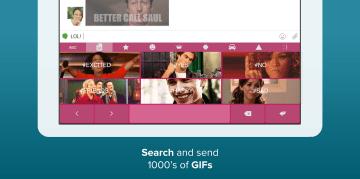 GIF klávesnice