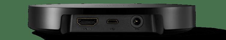 Google Nexus Player zadní strana