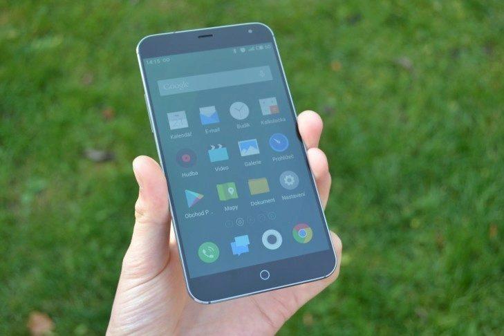 čínské telefony Meizu-MX4