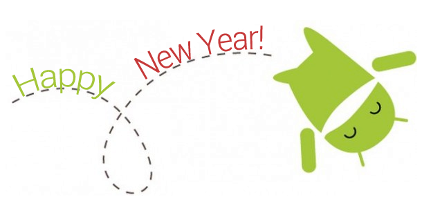 Společnsot Google a Android přejí všechno nejlepší do nového roku